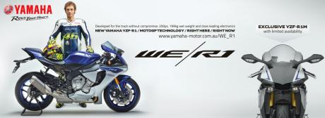 All new Yamaha YZF-R1